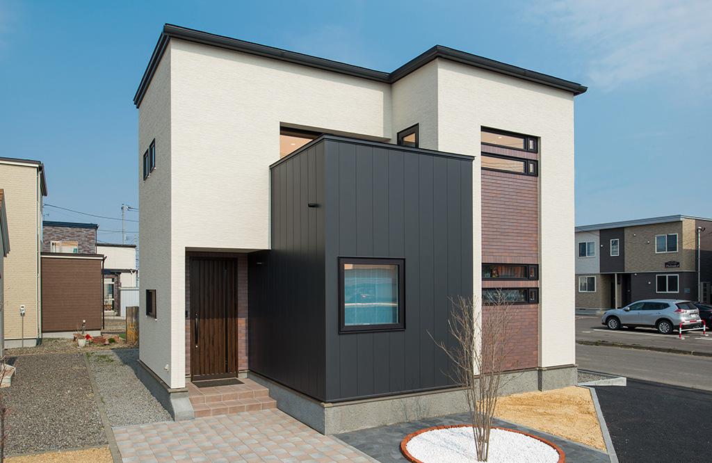 苫小牧のエコアハウス住宅展示場に、3つめのモデルハウスが誕生しました。
