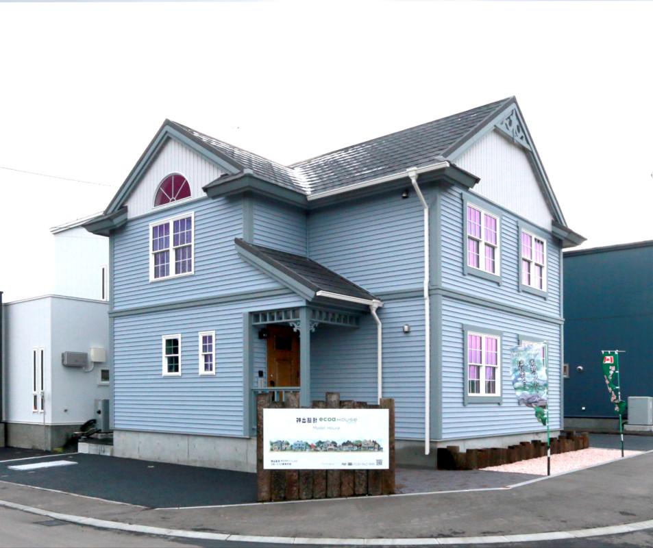 エコアタウン元江別<br>輸入住宅『プルーデンス』オープンハウスのお知らせです(^^♪